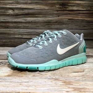 Nike Free Fit 2 Gray Running Shoes Women 7